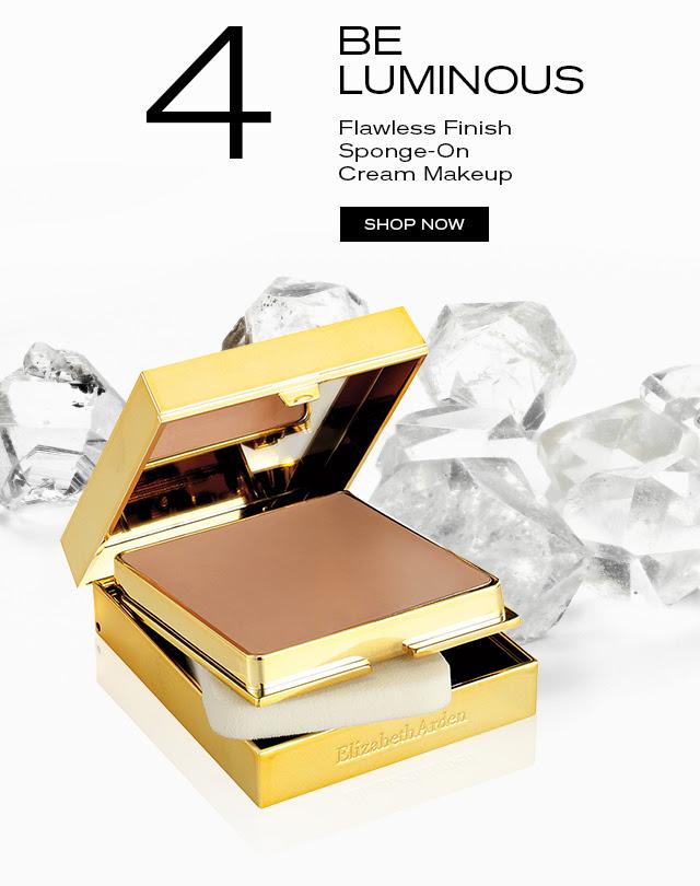 4 BE LUMINOUS. Flawless Finish Sponge-On Cream Makeup. SHOP NOW