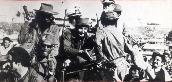 Entrada de Fidel a La Habana el 8 de enero de 1959