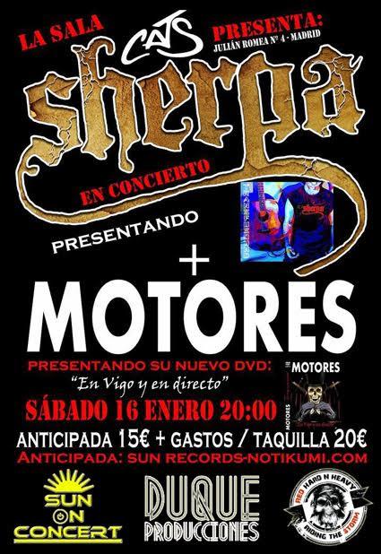 MOTORES Y SHERPA