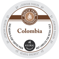 Barista Prima Colombia Keurig K-cup coffee