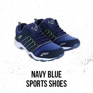 Men's Footwear - Navy