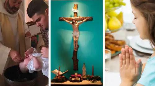 ¿Quieres una familia unida y saludable? Estas 13 tradiciones católicas pueden ayudar