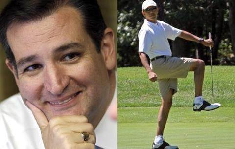 VIDEO: Jimmy Fallon: Ted Cruz Just Invited Obama to the Border to Play Golf