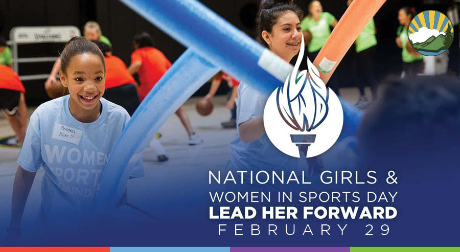 National Girls & Women in Sports                                                           Day includes                                                           fun activities                                                           like foam                                                           sword fights