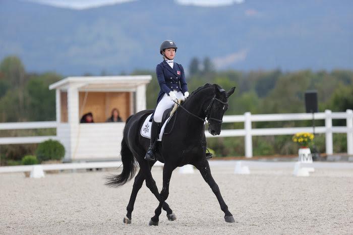 Estelle Wettstein gewinnt mit WEST SIDE STORY OLD die Schweizer Meisterschaft 2020 der Dressur Elite