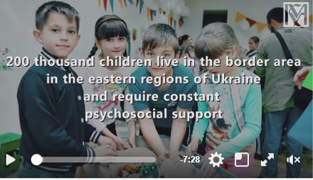 Development of psychosocial support centres in Kyiv, Slovyansk, Pokrovsk