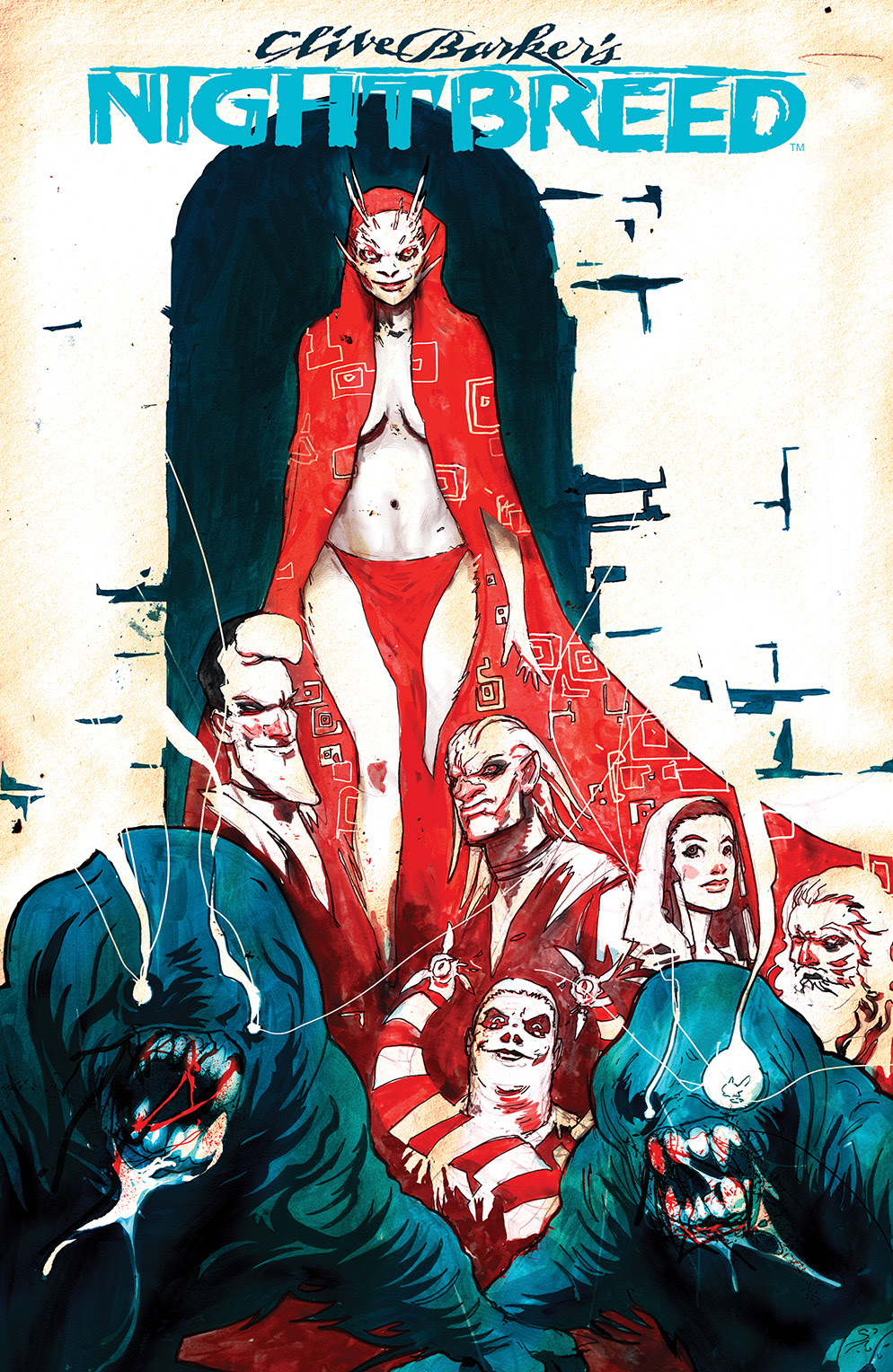 CLIVE BARKER'S NIGHTBREED #4 Cover A by Riley Rossmo
