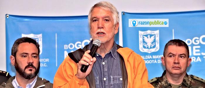 Alcaldía de Bogotá Peñalosa creó la Secretaría de Seguridad como una forma de combatir este problema de la ciudad.