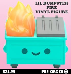 Lil Dumpster Fire Vinyl Figure