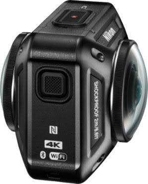 La KeyMission 360 de Nikon