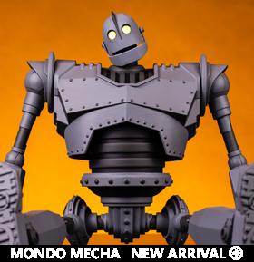 The Iron Giant Mondo Mecha Iron Giant Figure
