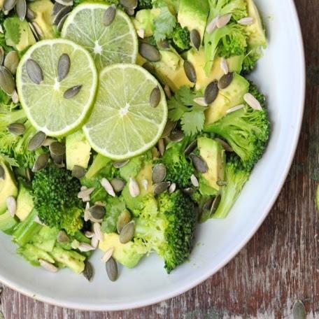 BroccoliAvacadoLimeSalad