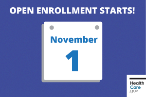 Open Enrollment Starts November 1