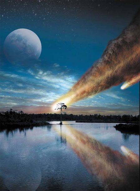 Meteors bombardments