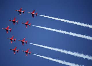 GREEN LIGHT FOR RED ARROWS AND EUROFIGHTER TYPHOON