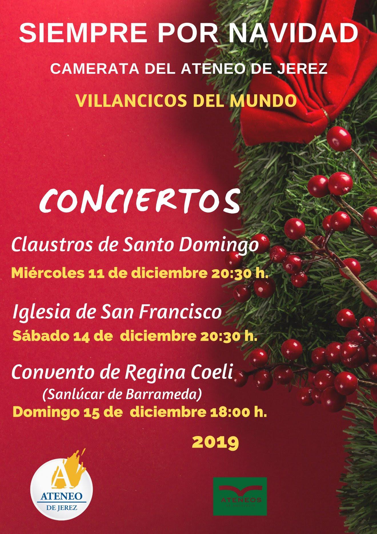 2019-12 CAMERATA Villancicos del mundo