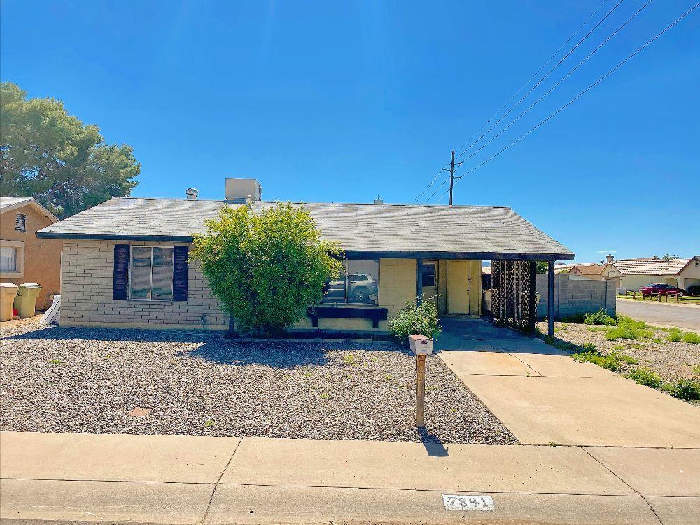 7841 W Georgia Ave Glendale, AZ 85303 Camelback Road & 83rd Avenue wholesale listing