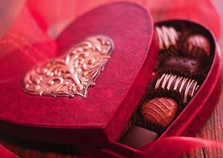 valentine's chocolates