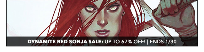 Dynamite Red Sonja Sale: up to 75% off! | Ends 1/30