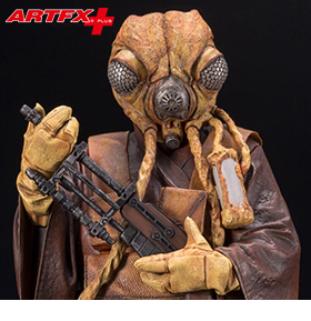 STAR WARS ARTFX+ ZUCKUSS STATUE