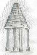 Towers Vijayanagar style, Iyenkullam Anjaneya Temple