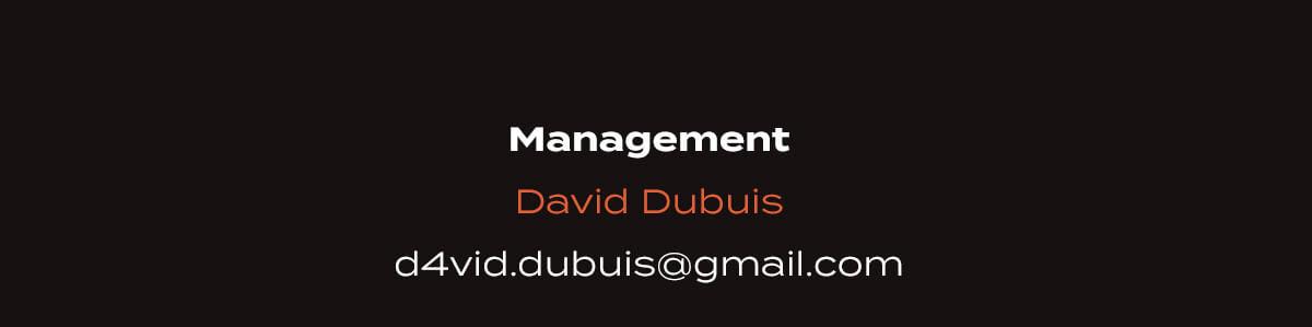Contact management : David Dubuis