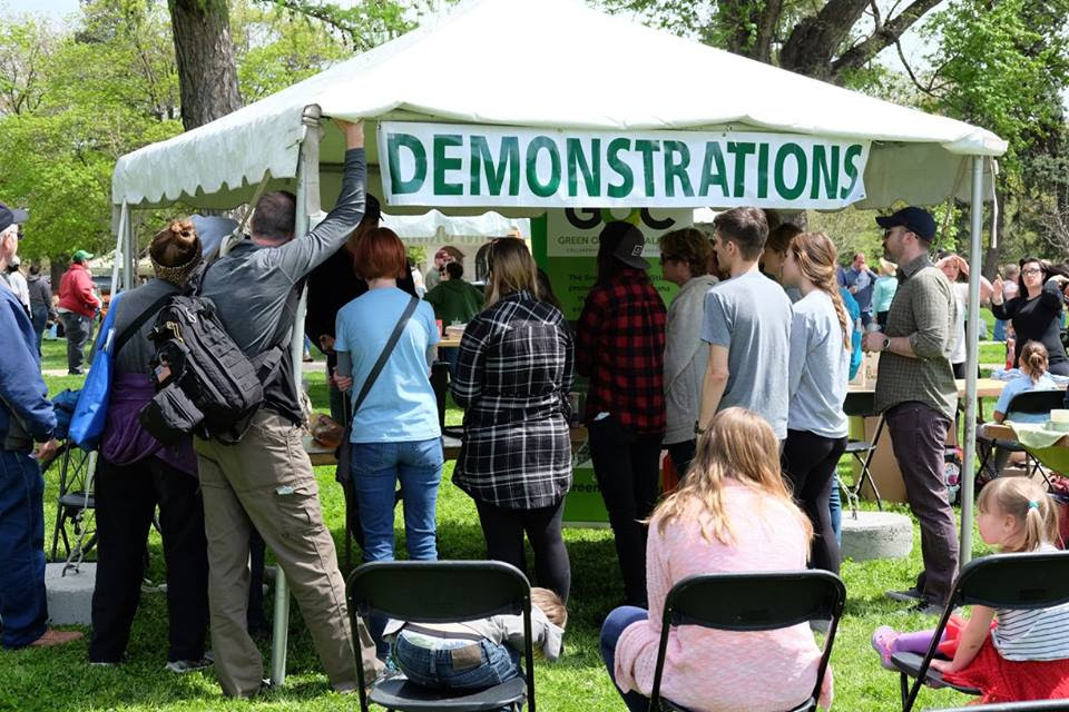 GOC Demonstration Tent at Earth Day Omaha