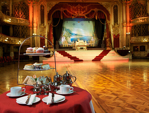Afternoon Tea Blackpool Tower Ballroom