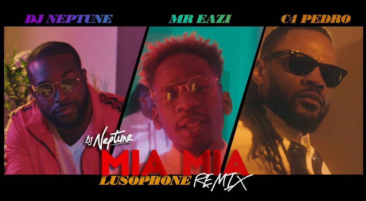 DJ Neptune lusophone mia mia video banner