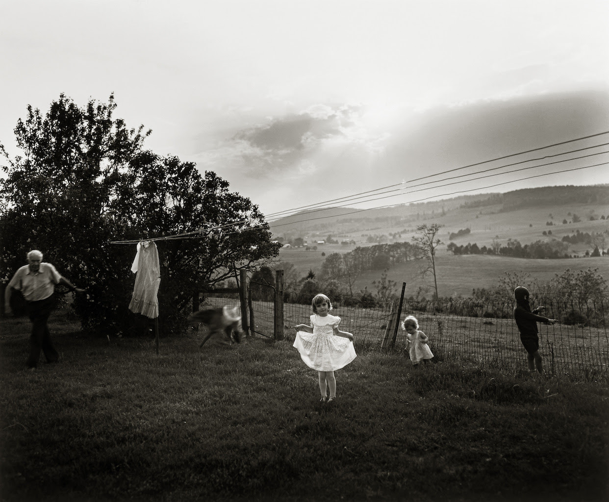 Sally Mann (American, born 1951), Easter Dress, 1986, gelatin silver print, Patricia and David Schulte. Image © Sally Mann.