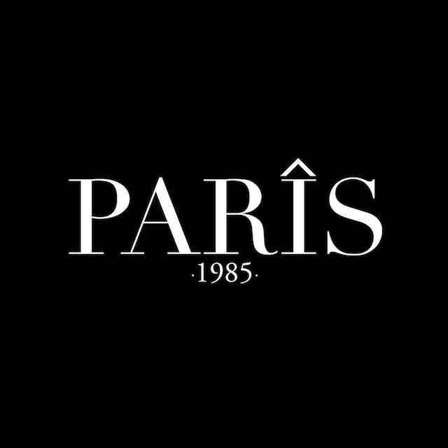 Black Logo Paris