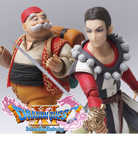 DRAGON QUEST BRING ARTS SYLVANDO & RAB TWO-PACK