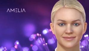 AI basert kognitiv system Amelia av IP Soft er en digital assistent som kommuniserer og lærer gjennom naturlig språk-et eksempel på teknologi som allerede er langt mer enn bare et verktøy, presser den endringen som teknologien gir til vår verden.