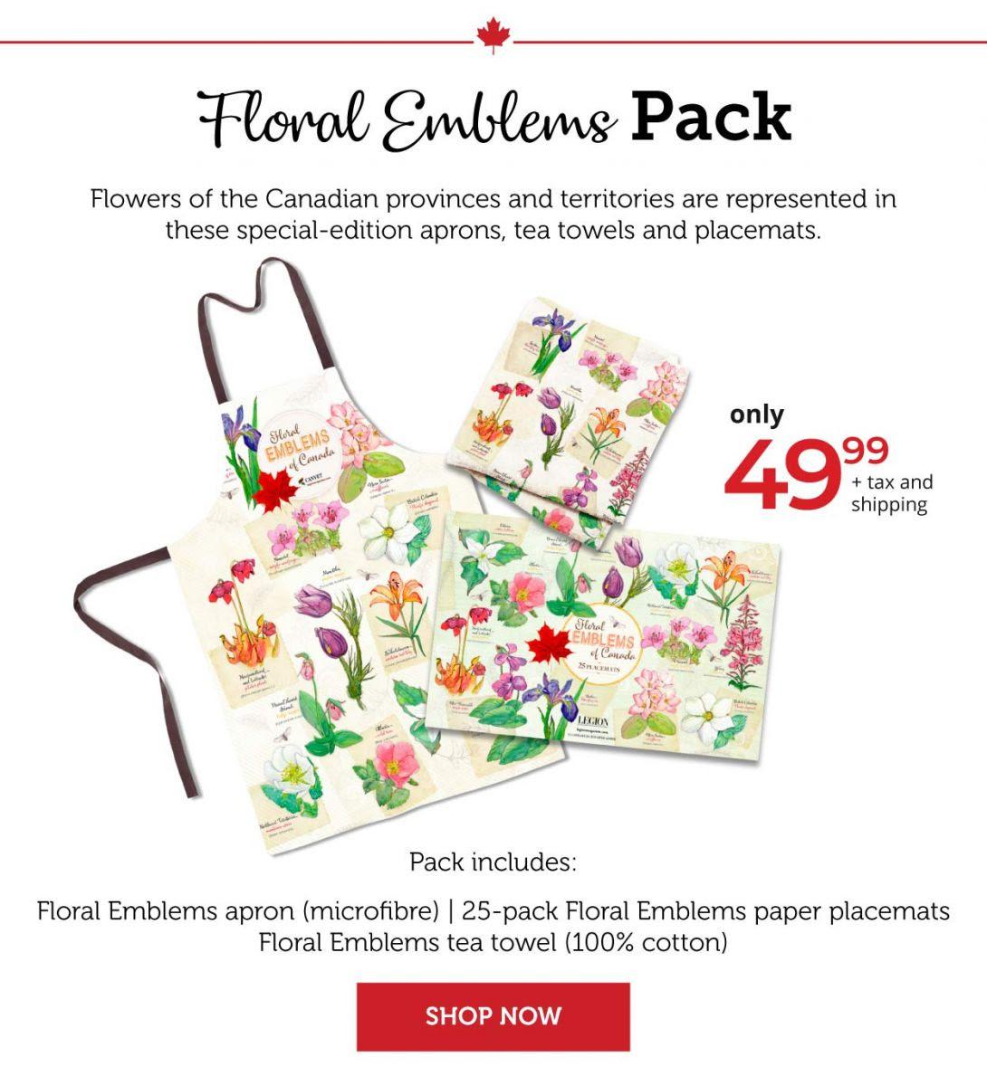 Flora; Emblems Pack