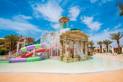 Ultimate aquatic adventure with over 25 rides, slides and experiences
