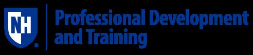 UNH Professional Development & Training logo