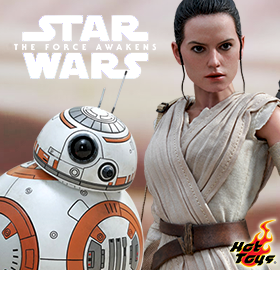 HOT TOYS EPISODE VII REY & BB-8