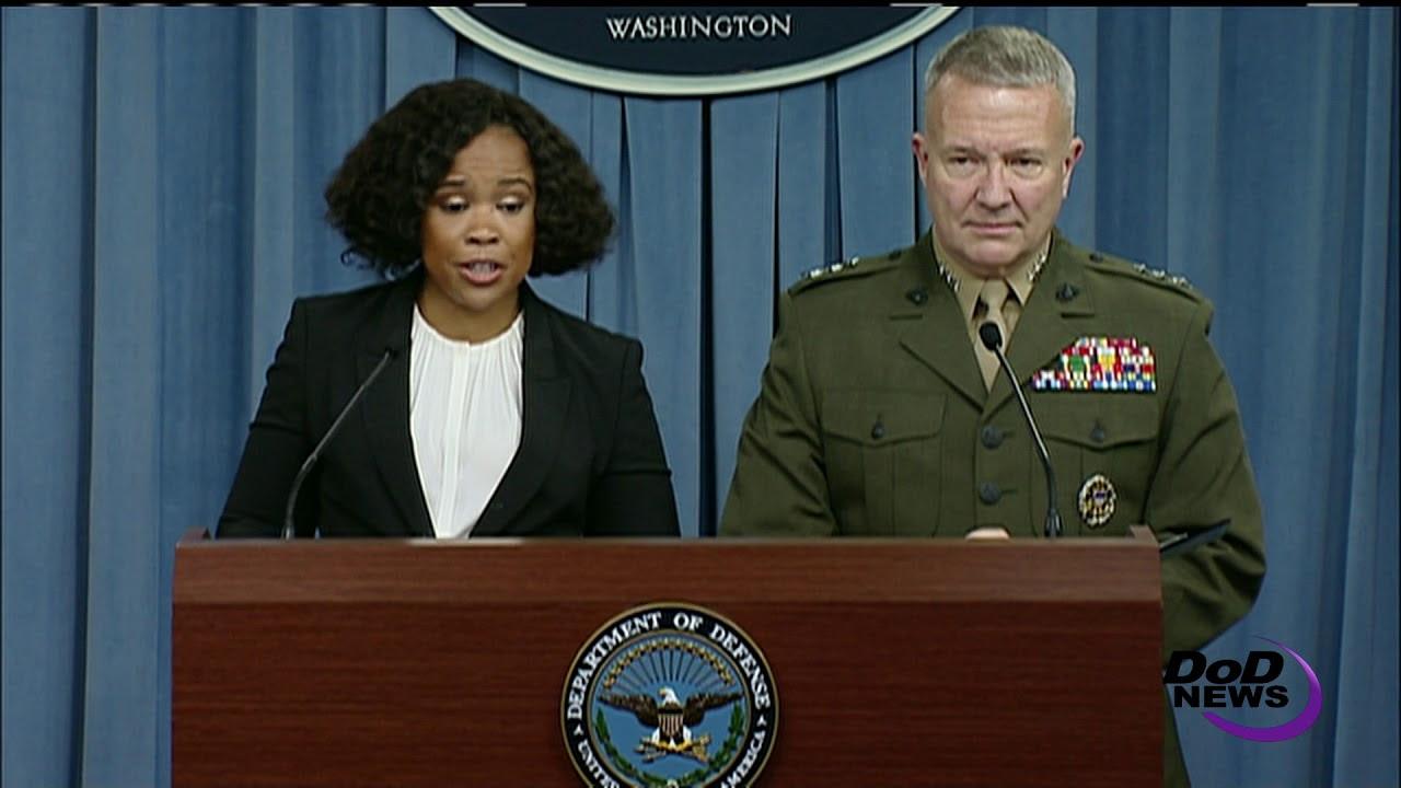 Pentagon Spokesperson: 'ISIS Getting Desperate'