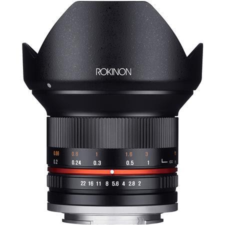 12mm f/2.0 NCS CS Manual Focus Lens Sony E Mount Nex Series Mirrorless Cameras