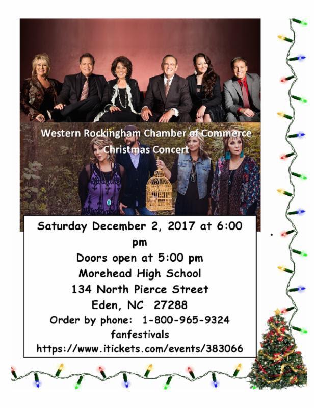 Western Rockingham Chamber Christmas Concert @ Morehead High School | Eden | North Carolina | United States