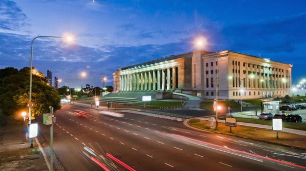 Facultad de Derecho, perteneciente a la UBA (Shutterstock)