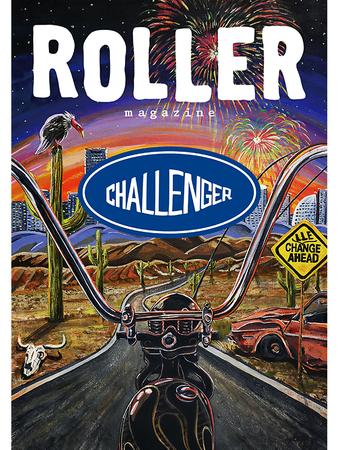 ヴィンテージバイク雑誌『ROLLER magazine』とスケーターブランド『CHALLENGER』が「ANTI NORMAL(純正御免)」をテーマにフェアを代官山 蔦屋書店で開催。