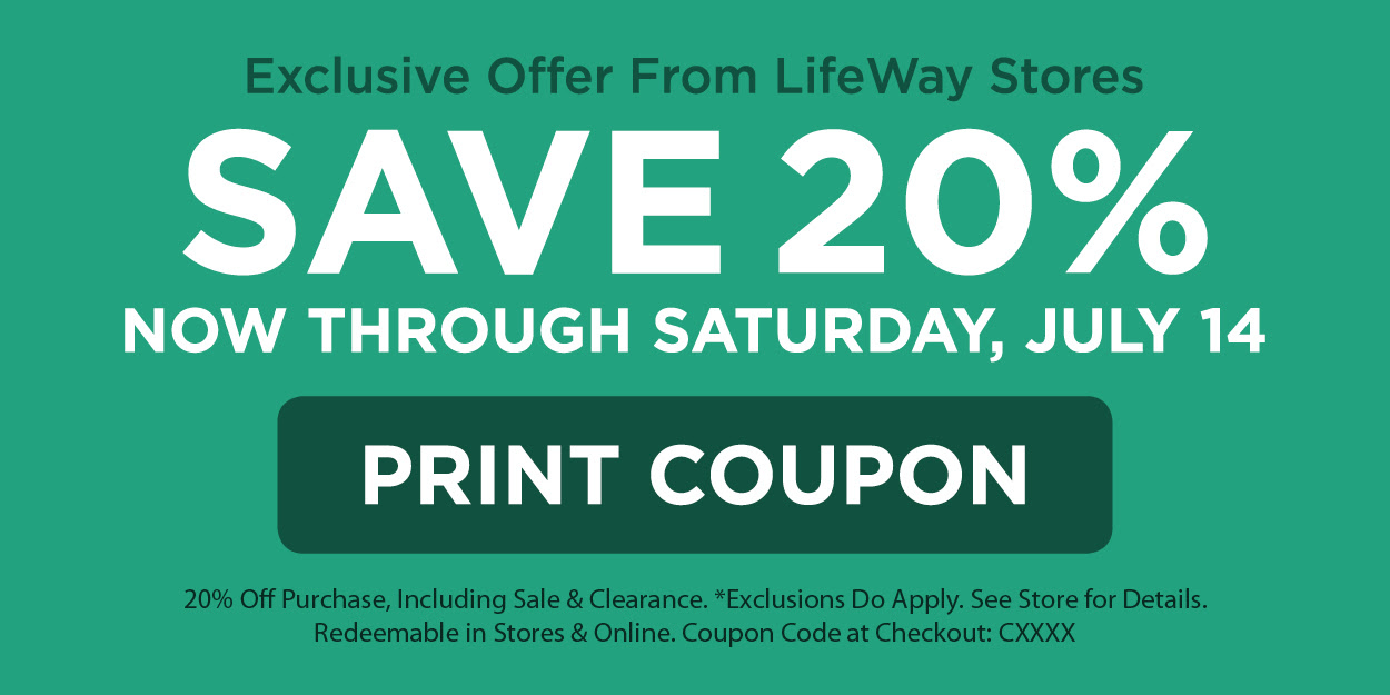 Exclusive Offer from LifeWay Christian Stores