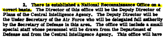 national reconnaissance