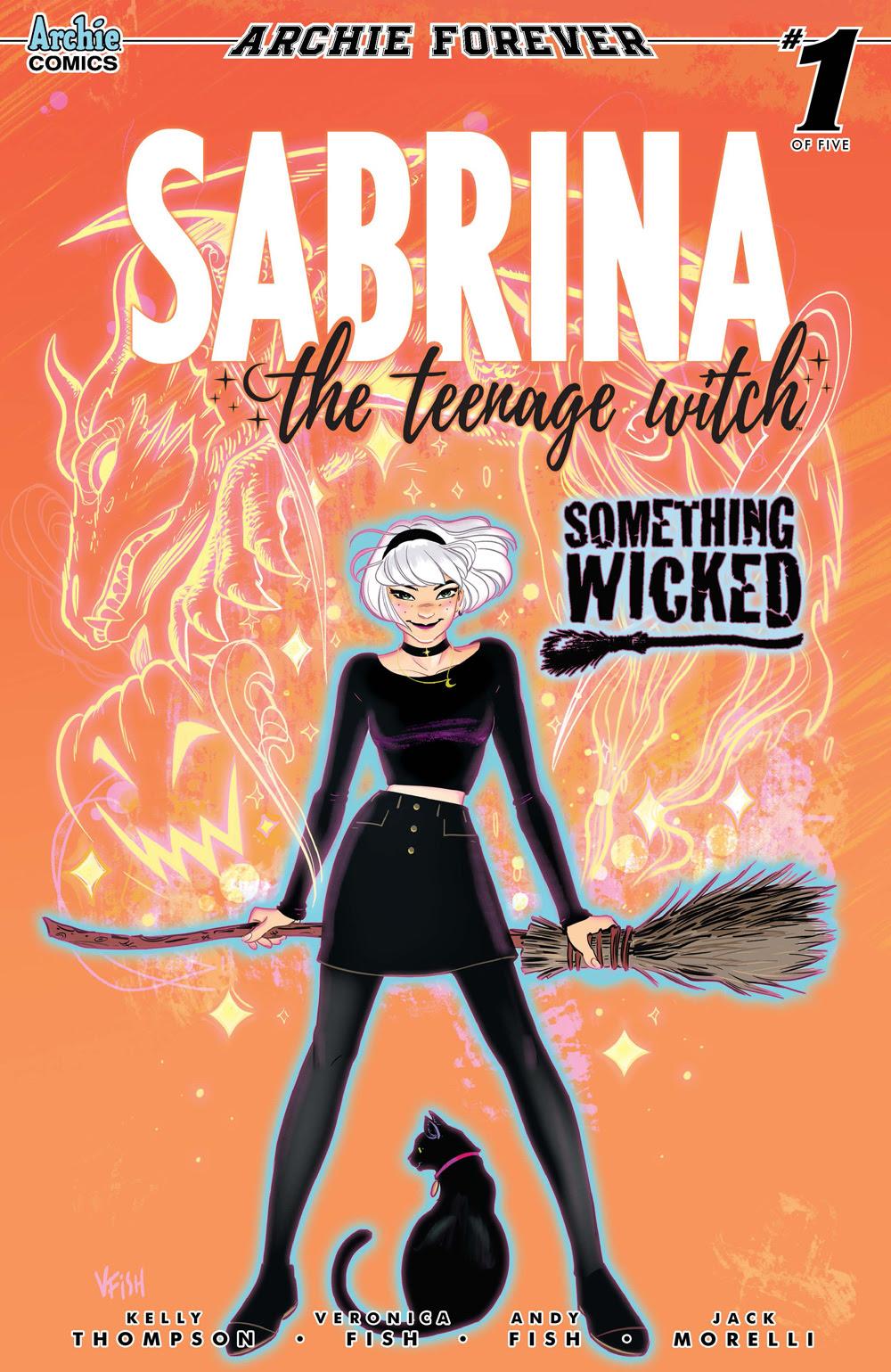 SABRINA: SOMETHING WICKED #1: CVR A Fish