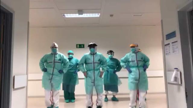 Médicos dançam Beyoncé em momento de descontração