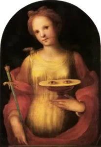 St. Lucy - Domenico di Pace Beccafumi