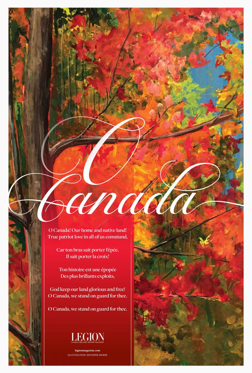 O Canada Poster (V.3) - Bilingual