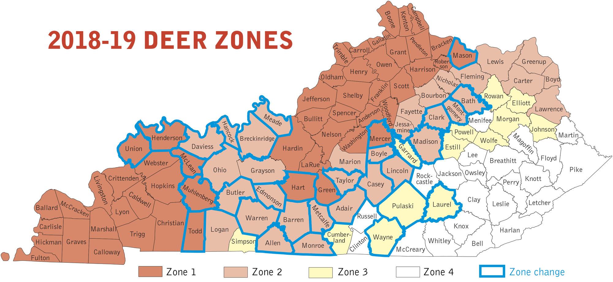 Deer Zones