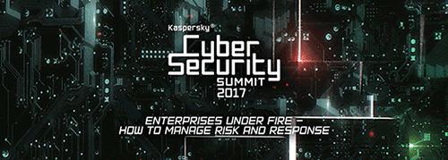 Cumbre 2017 de Kaspersky sobre ciberseguridad